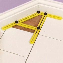 Multi-angle measuring foldable ruler