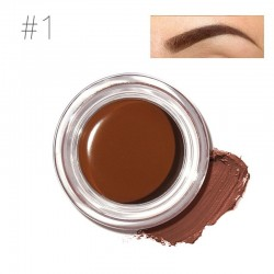 Waterproof gel eyebrow henna with brush
