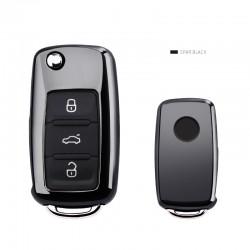Car key cover case for Volkswagen VW Passat Golf Jetta Bora Polo Sagitar Tiguan with keychain