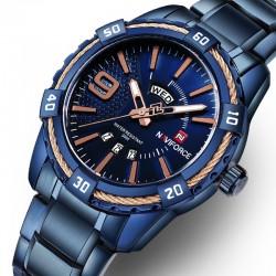 Waterproof sports watch stainless steel