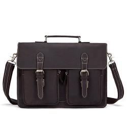 Men's genuine leather bag