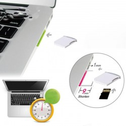 MacBook Air Pro Micro SD TF to MiniDrive SD Card Adapter