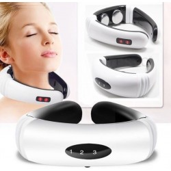 Electric pulse - back & neck massager - infrared heating