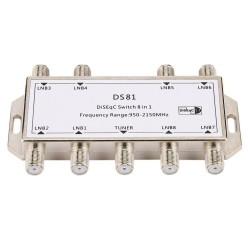 8 in 1 - Satellitensignal - DiSEqC-Schalter