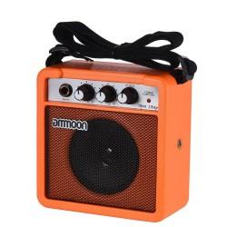 Amplificateur et haut-parleur mini 5W portables pour guitare et ukulélé - batterie intégrée