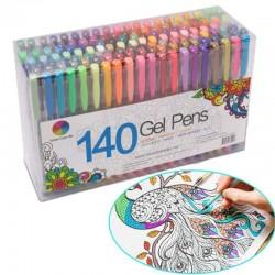 Fluorescent - colorful - gel drawing pens 24 / 48 pcs