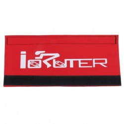 Bicycle frame chain protector - cover