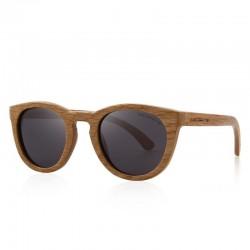 Retro - lunettes de soleil en bois faites à la main - unisexe