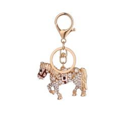 Crystal horse - keychain