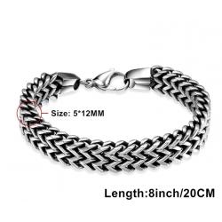 Bracelet chaîne en acier inoxydable