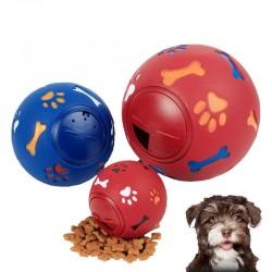 3 gre Bildungs Interaktive Haustier Hund Spielzeug Gummi Ball Welpen Kauen Spielzeug Pfote Knochen