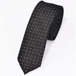 New Mens casual slim ties Classic polyester woven party Neckties Fashion Plaid dots Man Tie for wed