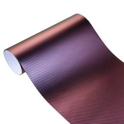 10100 cm Chameleon 3D Carbon Fiber Vinyl Film Wrap Folie Auto Auto Lkw Krper Dekoration Aufkleber