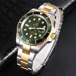Rotatable Bezel - Sapphire Glass - Stainless Steel Watch