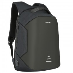 Anti-diefstal rugzak met USB-oplader - waterdicht - 15.6-inch laptoptas