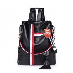 Fashion retro backpack & handbag with tassels