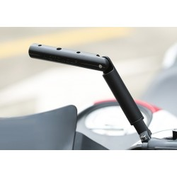 Multi-function adjustable phone holder for motorcycle 22mm