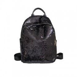 Glitter backpack with color changing sequins