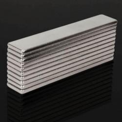 N48 super starker Neodym-Magnet 50 * 10 * 2mm - Block 10 Stück
