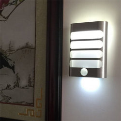 Led wall light with PIR motion sensor