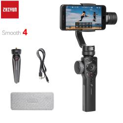 Zhiyun stabilisateur de cardan pour Smartphone 3 axes lisse 4 Q pour iPhone XS XR X 8 Plus 8 7 P 7