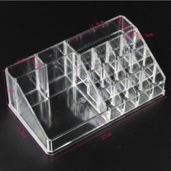 Acrylic transparent Makeup Organizer Storage Boxes