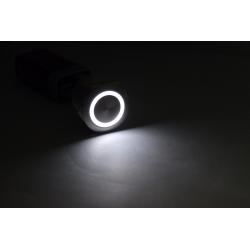 22mm mtal tanche en acier inoxydable bouton interrupteur momentan fonction rinitialiser avec ann