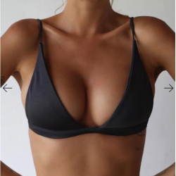 Sexy bikini beha met push-up