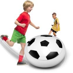 Heier Schweben Ball LED Licht Blinkt Ankunft Air Power Fuball Ball Disc Innen Fuball Spielzeug Mu