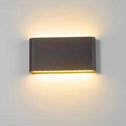 Lumière impermèable à mur pour intèrieurs et èxterieurs 6W - 12W LED IP65