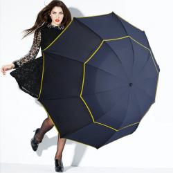 Large windproof umbrella 130 cm