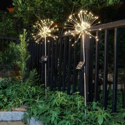 120 LED - outdoor - christmas solar powered lights