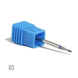 Diamond nail drill bits for manicure & pedicure