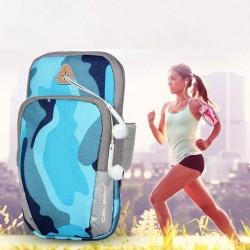 Universelle Sportarmband - Tasche mit Reißverschluss