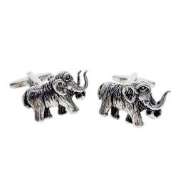 Fashion cufflinks with mammoth