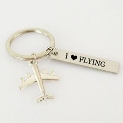 I love flying sleutelhanger
