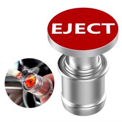 12V EJECT & FIRE MISSILE - drukknop auto-aansteker