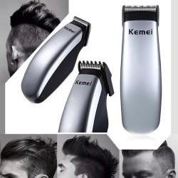 Kemei - mini tondeuse à batterie électrique - tondeuse à barbe