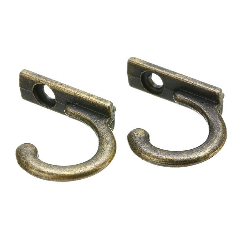 Antique wall mounted hooks 10 pieces