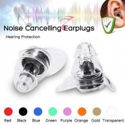 Anti-noise earplugs - reusable - hearing protection - party plugs - waterproof