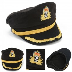 Sailor - navy - captain hat for party - cosplay