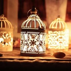 Marokkaanse lantaarn - vintage hangende kandelaar