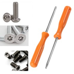 Multifunctional Torx T8 + T10 precision screwdriver for Xbox 360/ PS3/ PS4 - tamper proof hole