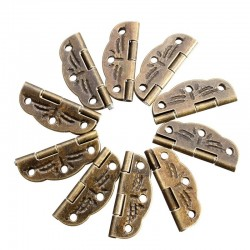 Antique door butt hinges 10 pieces