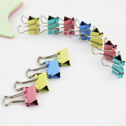 15mm metal paper binder clips 60 pieces