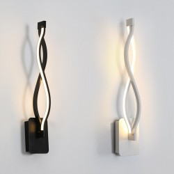 Modern wall mounted light lamp - aluminum