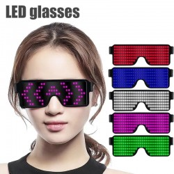 11 modes - Led party glasses with USB cable