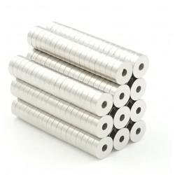 N50 neodymium magnet - mini round ring 5 * 1.5 * 1.5mm 50 pieces