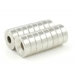 N35 neodymium magnet - strong ring 12 * 4 * 4mm 2 pieces
