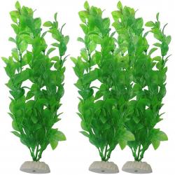 Aquarium artificial green grass - plant 26cm